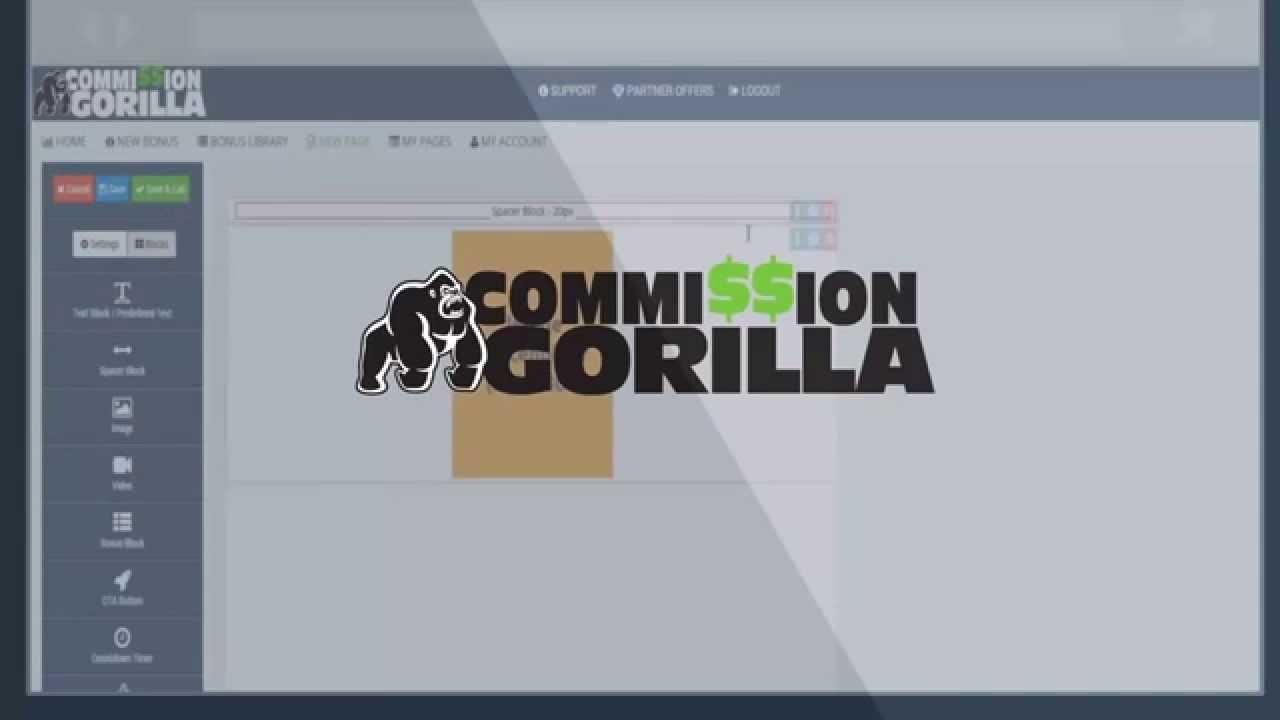 COMMISSION GORILLA – REVISIÓN